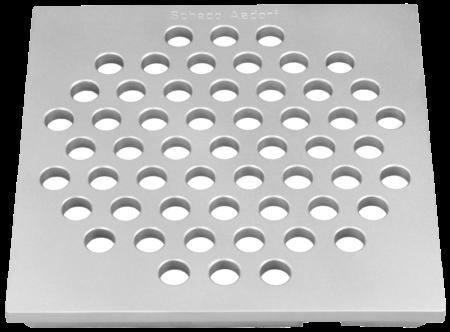 Lochrost 6mm befahrbar Grösse 145 x 145 x 14 mm
