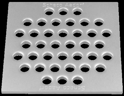 Lochrost 4 mm begehbar Grösse 109 x 109 x 4 mm