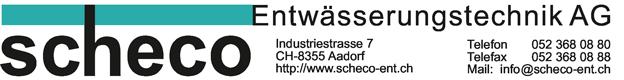 Scheco Entwässerungstechnik AG