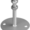 Oberteil 150 x 150 mm, mit Rohr Ø 114,3 x 200 mm lang