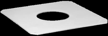 Klebeflansch 300 x 300 mm