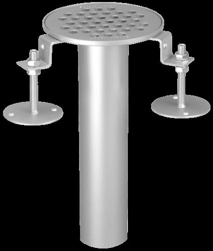 Bodeneinlauf rund Ø 129 mm, Typ 100/50