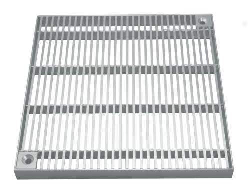 Stabrost (barfuss begehbar, nicht befahrbar), Grösse 238x238x20mm