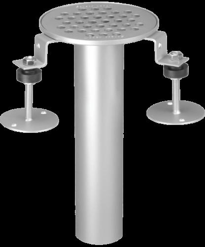 Bodeneinlauf Scheco Typ 100/60, rund Ø 129 mm